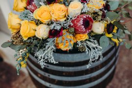 A Winery and Vineyard Styled Shoot at the Heisen House Vineyards in Battle Ground, Washington